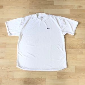 Nike White Dri-Fit  Performance Training T-Shirt